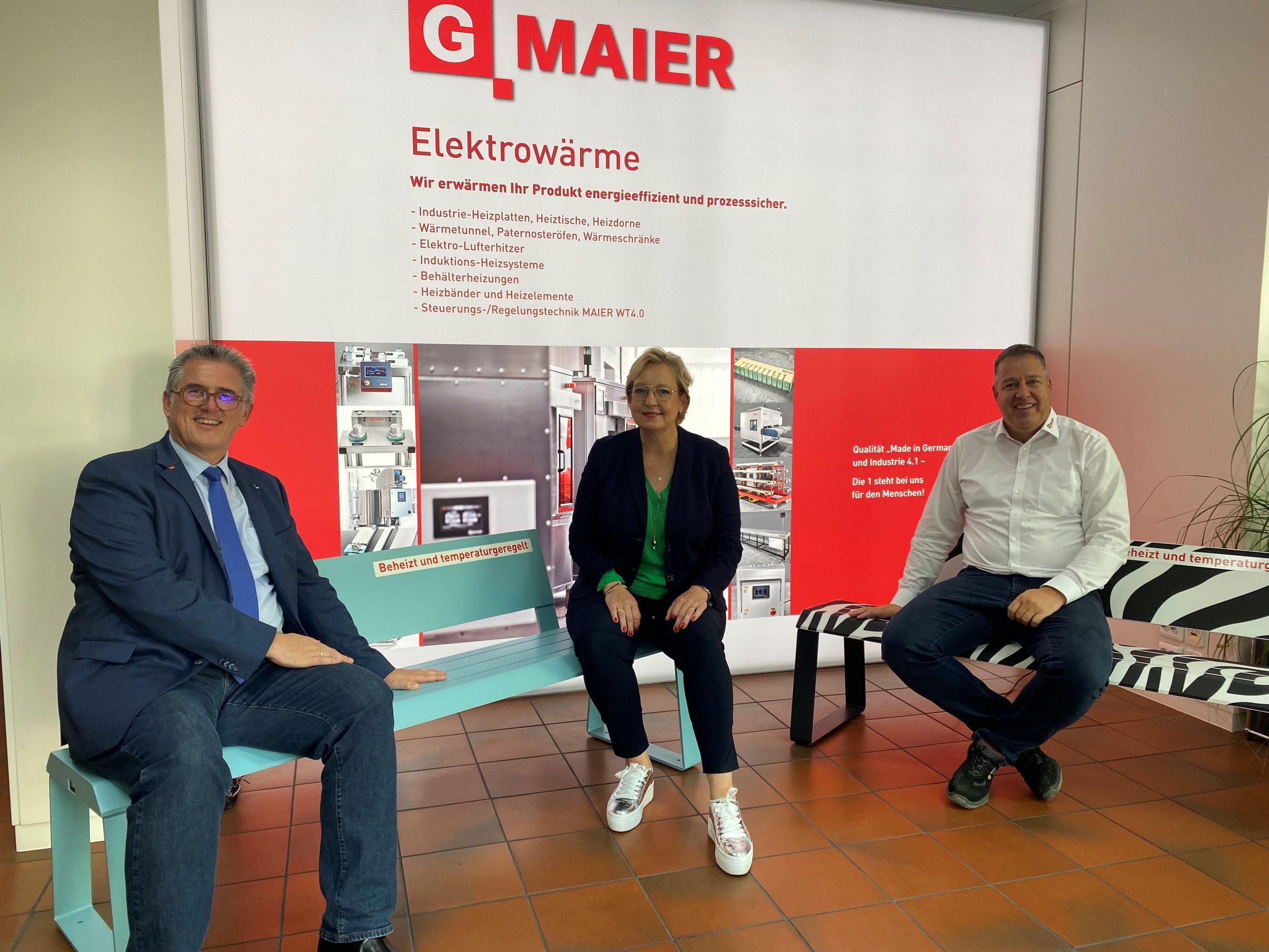 Michael Donth zu Gast bei G. MAIER